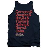 Tank Top: Major League - Team Roster Shirts