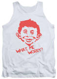 Tank Top: Mad Magazine - What Me Worry Tank Top