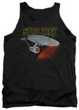 Tank Top: Star Trek - Retro Enterprise Tank Top
