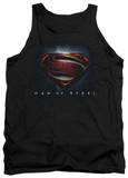 Tank Top: Man Of Steel - Man Of Steel Shield T-Shirt