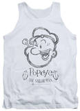 Tank Top: Popeye - Sketch Portrait T-shirts