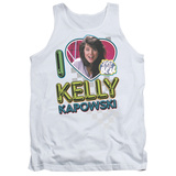 Tank Top: Saved By The Bell - I Love Kelly Tank Top