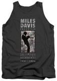 Tank Top: Miles Davis - Miles Silhouette Tank Top