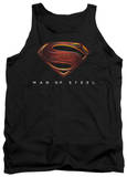 Tank Top: Man Of Steel - MoS New Logo Tank Top