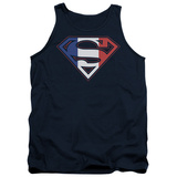 Tank Top: Superman - French Shield T-shirts