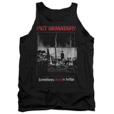 Tank Top: Pet Semetary - Cat Poster Tank Top