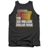 Tank Top: The Six Million Dollar Man - Run Fast Tank Top
