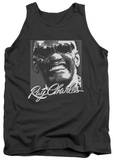 Tank Top: Ray Charles - Signature Glasses Tank Top
