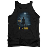 Tank Top: The Adventures of Tintin - Title Poster Tank Top