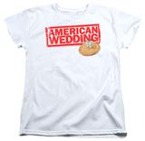 Womens: American Wedding - Wedding Logo Shirt