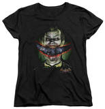 Womens: Batman Arkham Asylum - Crazy Lips T-shirts
