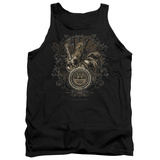 Tank Top: Sun Records - Scroll Around Rooster Tank Top