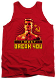 Tank Top: Rocky - I Must Break You Tank Top