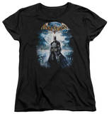 Womens: Batman Arkham Asylum - Game Cover Shirts