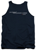 Tank Top: The Good Wife - Law Offices Tank Top