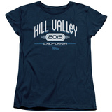 Womens: Back To The Future II - Hill Valley 2015 T-shirts