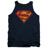 Tank Top: Superman - Shattered Shield Tank Top