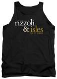 Tank Top: Rizzoli & Isles - Logo Tank Top