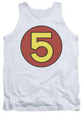 Tank Top: Speed Racer - Mach 5 Door Sticker Tank Top
