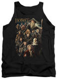 Tank Top: The Hobbit: An Unexpected Journey - Somber Company Shirt