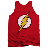 Tank Top: The Flash - Flash Logo Tank Top