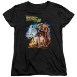 Womens: Back To The Future III - Poster T-shirts