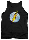 Tank Top: The Flash - Flash Neon Distress Logo Tank Top