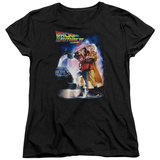 Womens: Back To The Future II - Poster T-Shirt