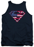 Tank Top: Superman - US Shield Tank Top