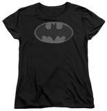 Womens: Batman - Chainmail Shield T-Shirt