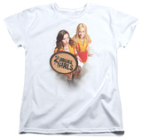 Womens: 2 Broke Girls - Tips Really T-shirts