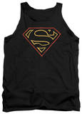 Tank Top: Superman - Colored Shield Tank Top