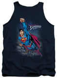 Tank Top: Superman - Twilight Flight Tank Top