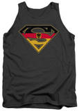 Tank Top: Superman - German Shield Tank Top