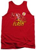 Tank Top: The Flash - Crimson Comet Tank Top