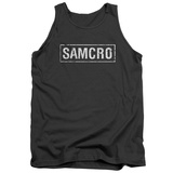Tank Top: Sons Of Anarchy - Samcro Shirt