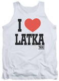 Tank Top: Taxi - I Heart Latka Shirt