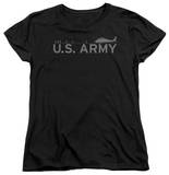 Womens: Army - Helicopter T-Shirt