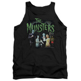 Tank Top: The Munsters - 1313 50 Years Tank Top