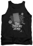 Tank Top: The Twilight Zone - Monologue Tank Top