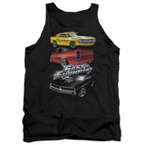 Tank Top: The Fast And The Furious - Muscle Car Splatter Tank Top