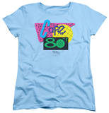 Womens: Back To The Future II - Cafe 80's Shirts