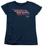 Womens: Back To The Future - Great Scott Shirt
