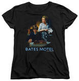 Womens: Bates Motel - Die Alone T-Shirt