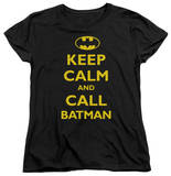 Womens: Batman - Call Batman T-Shirt