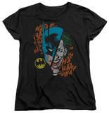 Womens: Batman - Broken Visage T-Shirt