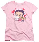 Womens: Betty Boop - Puppy Love T-Shirts