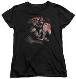 Womens: Batman Arkham City - Blood Moon T-Shirt