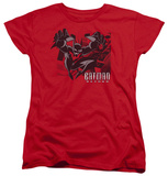 Womens: Batman Beyond - City Jump T-shirts