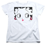 Womens: Betty Boop - Close Up T-Shirt